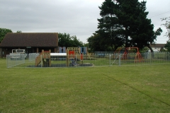 Park equipment and fencing