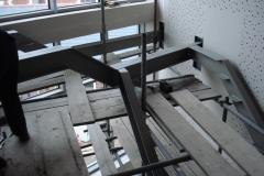 RSJ beam installed