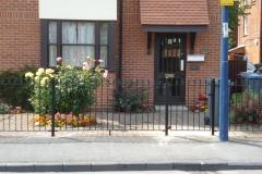 Railing fence